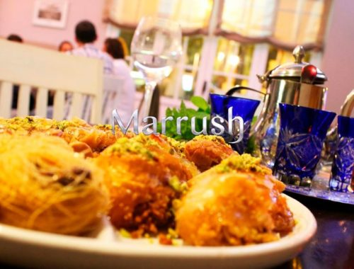 restaurante marrush marbella