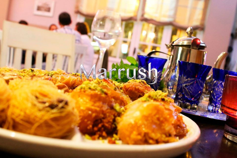 restaurante marrush marbella