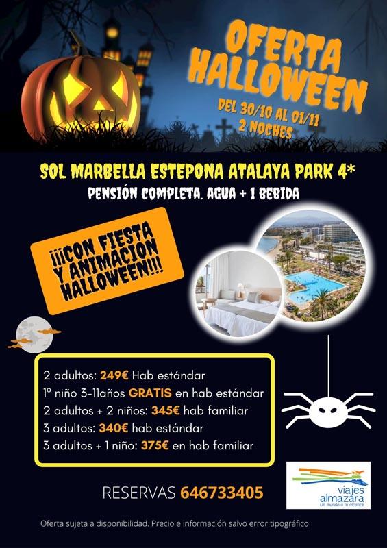 hotel sol marbella halloween