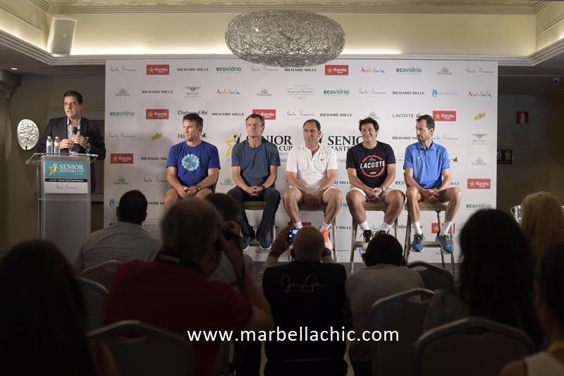 senior masters cup marbella