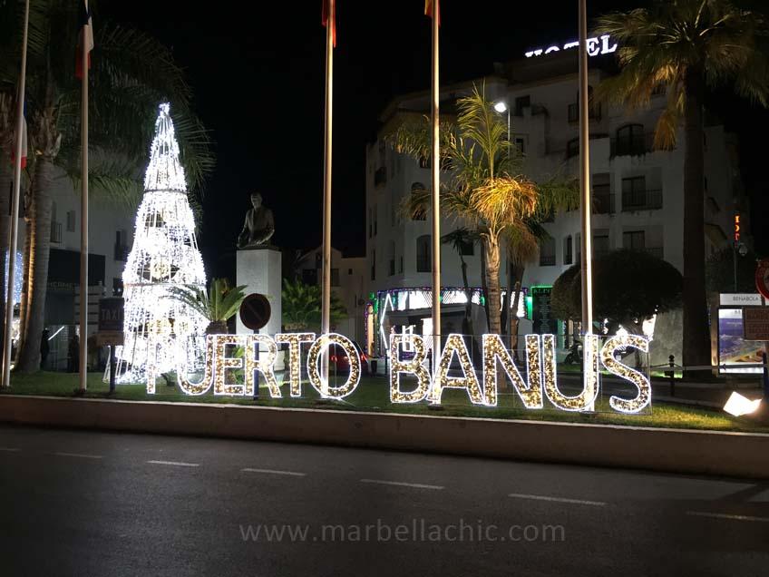 puerto banus navidad