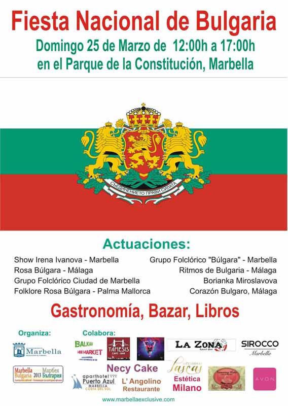 fiesta nacional de bulgaria en marbella