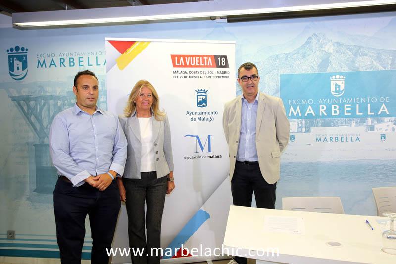 vuelta ciclista españa marbella