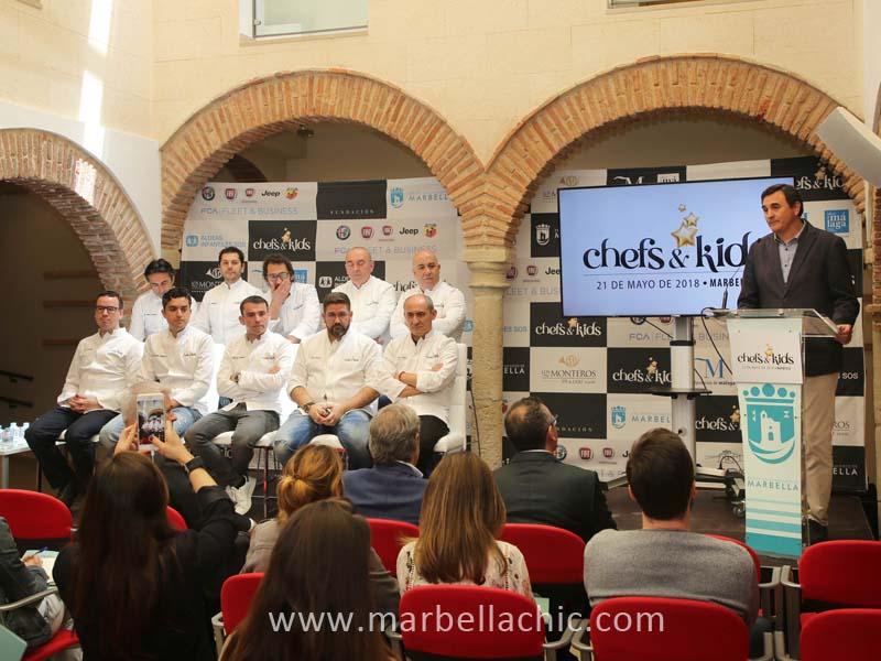 marbella chefs kids