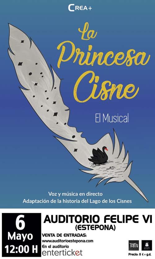 la princesa cisne el musical estepona