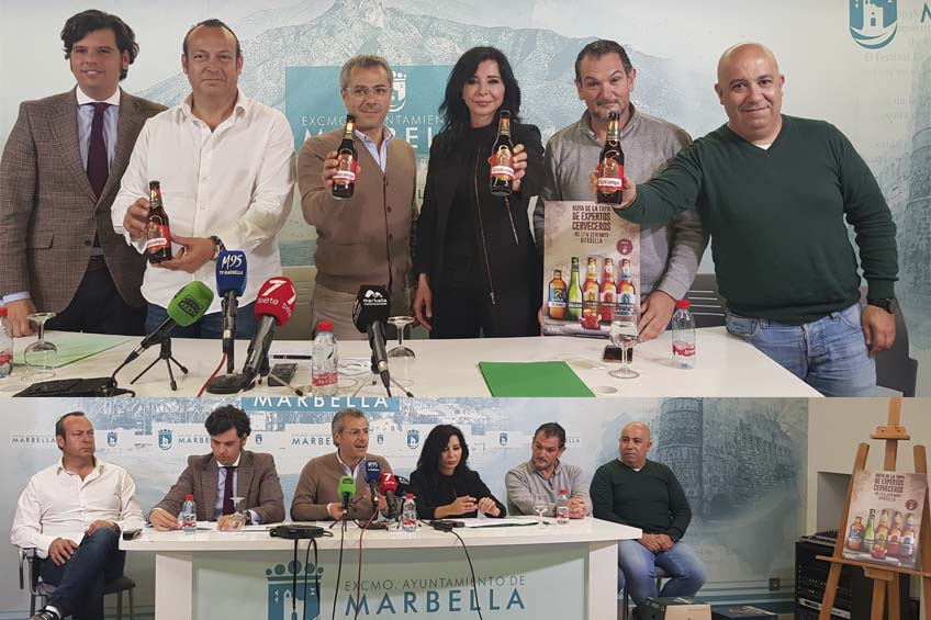 ruta de la cerveza en marbella
