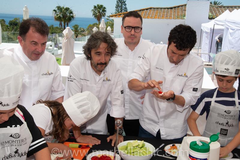 chef & kids marbella