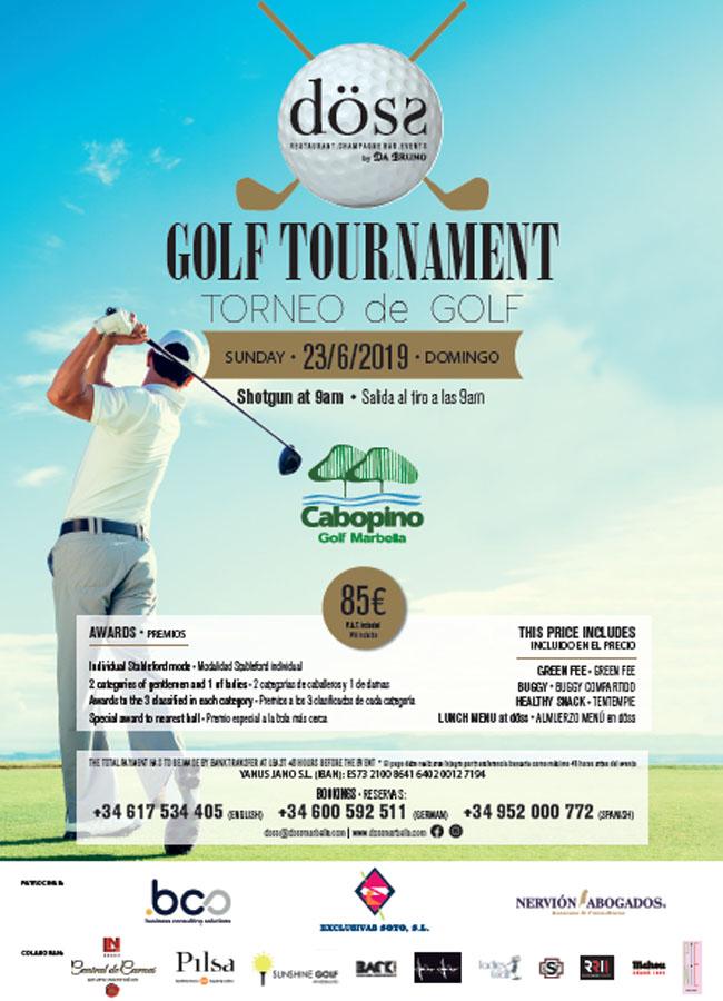 torneo golf doss marbella restaurante