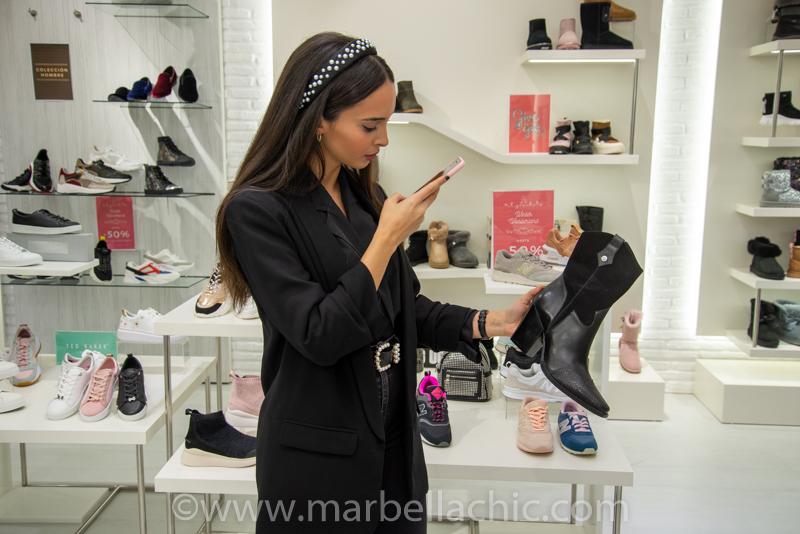Luisa Montes tienda 338 Puerto Banús