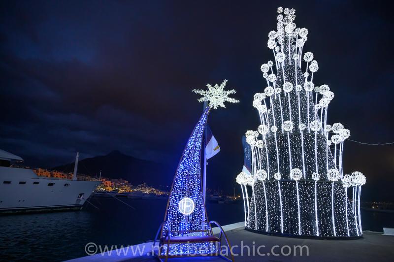 puerto banus mercado de navidad