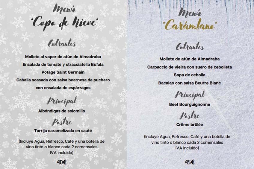 maison lu restaurante grupos navidad