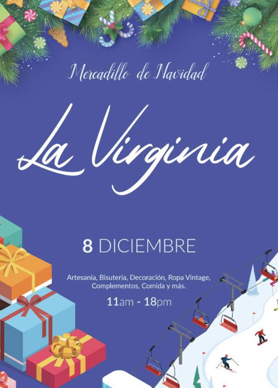 mercadillo de navidad la virginia marbella