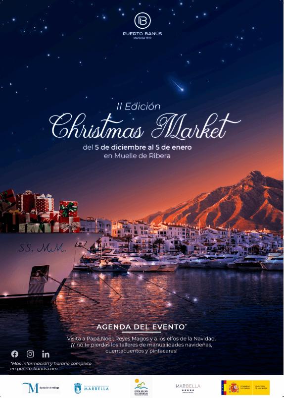 puerto banús christmas market