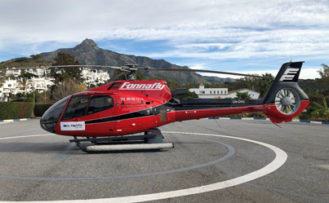 tour puerto banus helicóptero