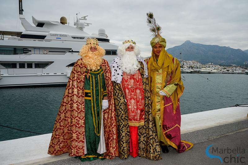 puerto banús reyes magos