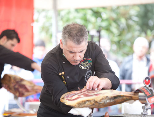 concurso de cortadores de jamón estepona