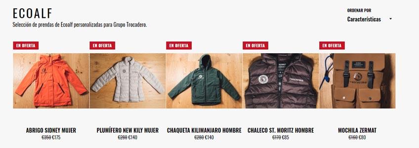 grupo trocadero tienda online