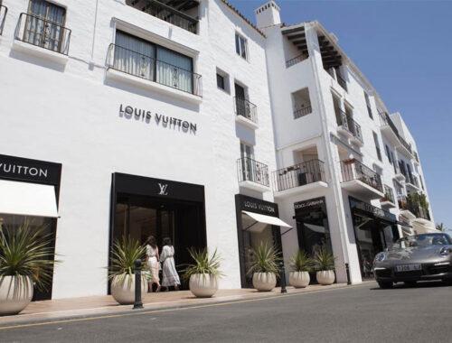 Colección de Louis Vuitton para Puerto Banús