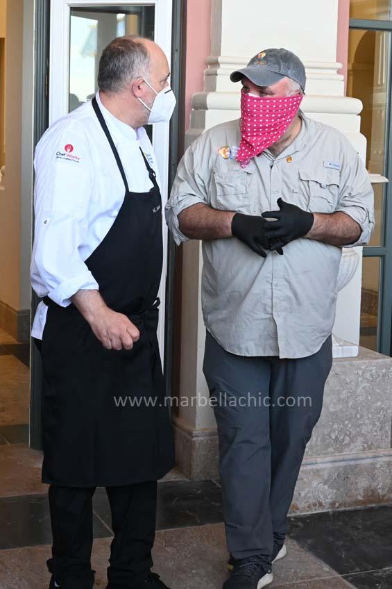 el chef josé andrés en Marbella