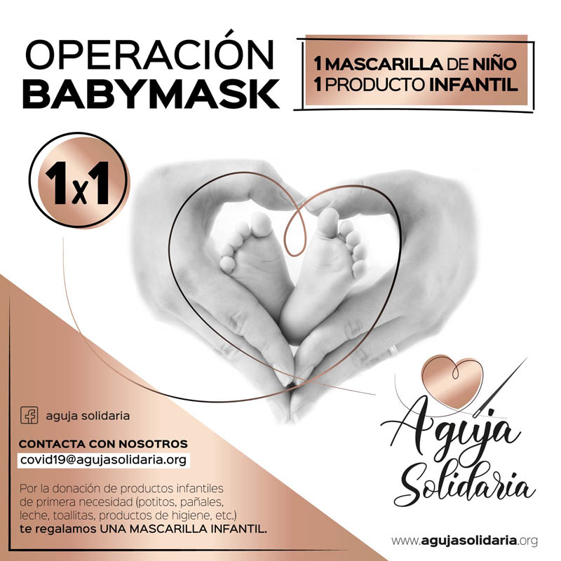 aguja solidaria baby mask