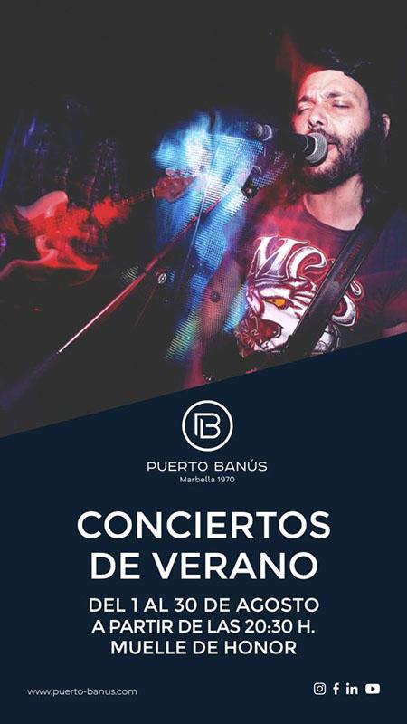 conciertos en Puerto Banús