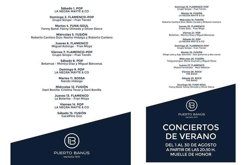 conciertos puerto banús