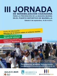 jornada de sensibilización ambiental en marbella