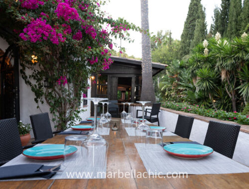 restaurante la cascada marbella