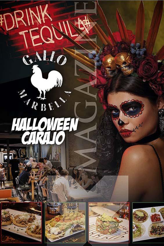 halloween en marbella en restarante gallo