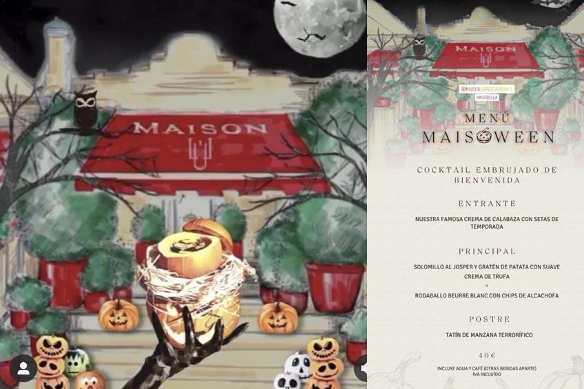 maison lu halloween