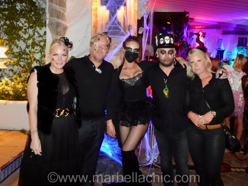 halloween gala marbella