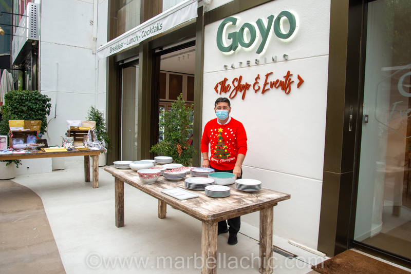 christmas market the shop by goyo