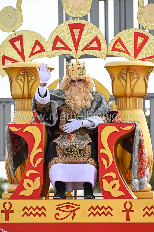cabalgata de reyes marbella