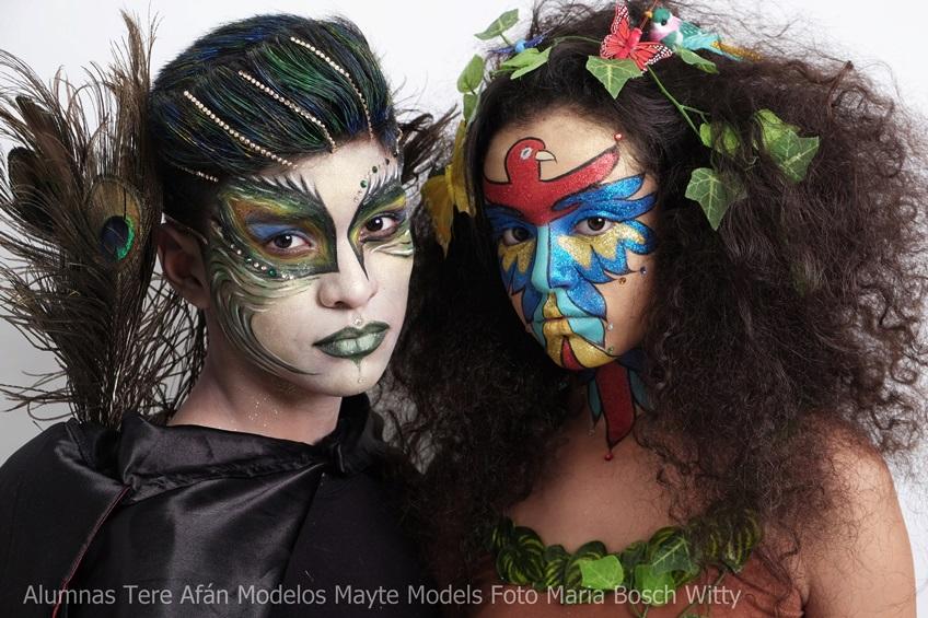 maquillajes de carnaval tere afan