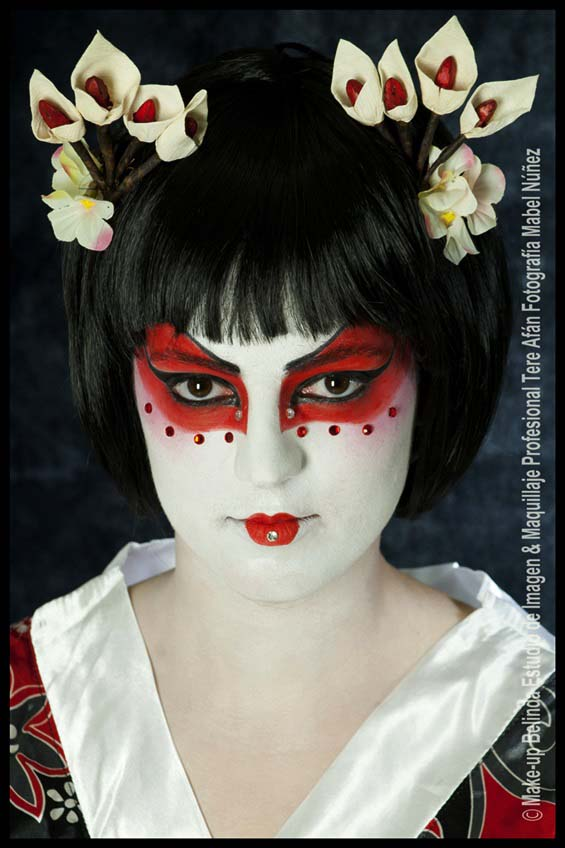 tere afan maquillajes carnaval