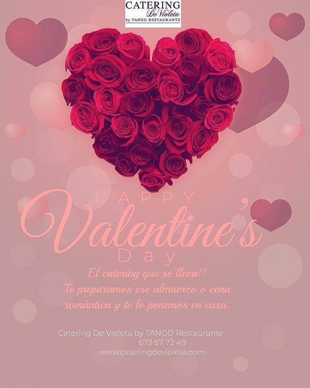 catering De Violeta San Valentin