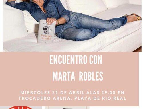 trocadero arena marta robles