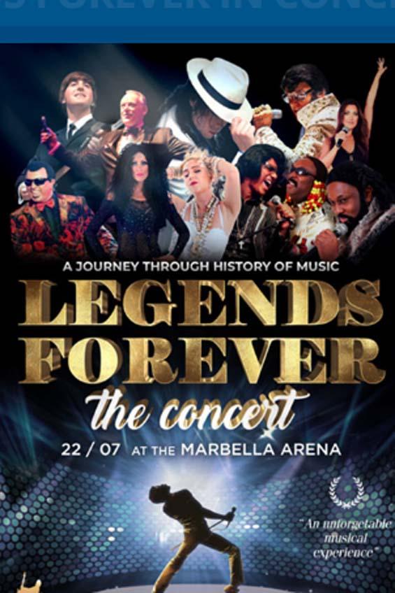 legens forever marbella arena