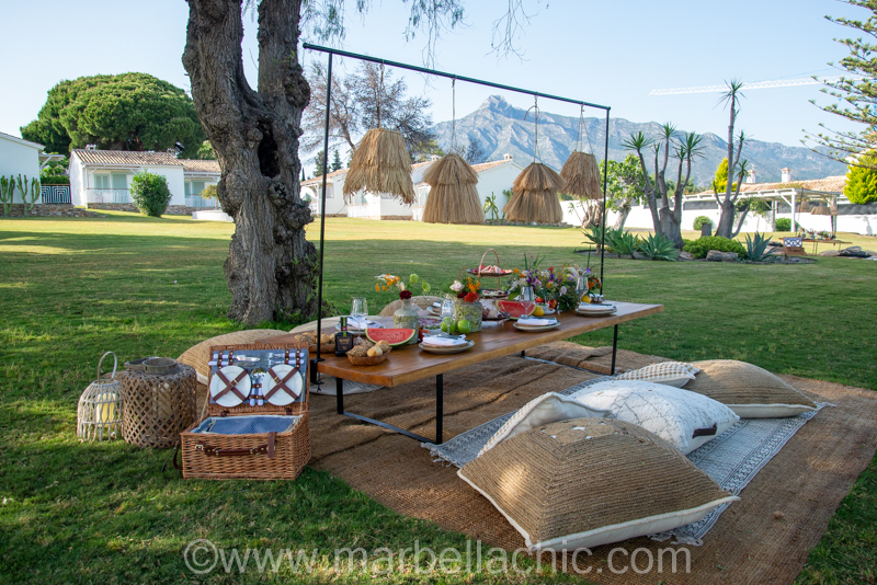 picnic boho club marbella