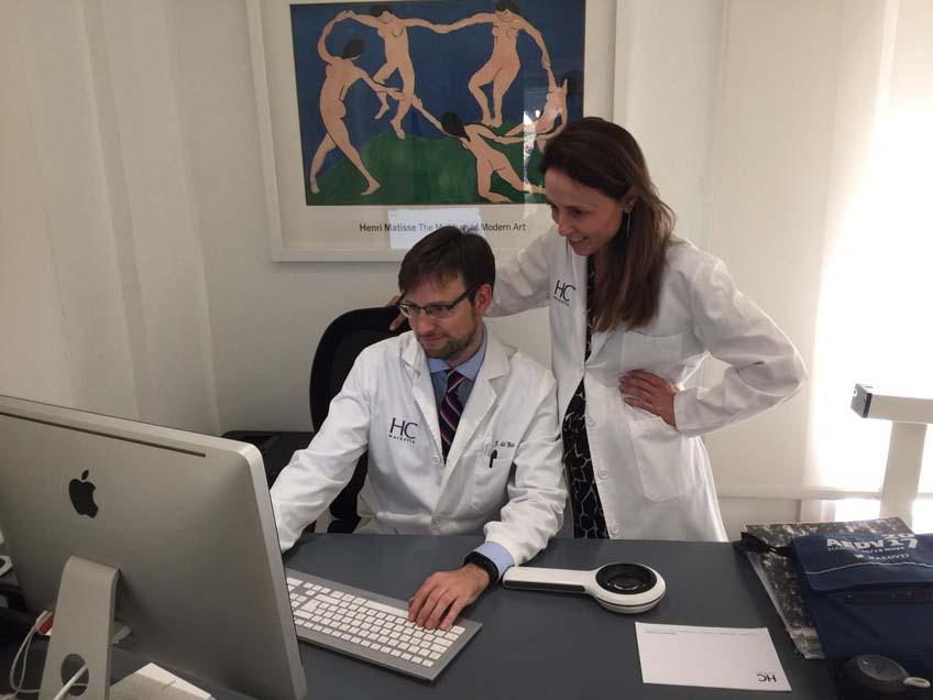 Dr. Javier del Boz del hospital HC Marbella