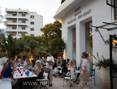restaurante 11:11 societe marbella