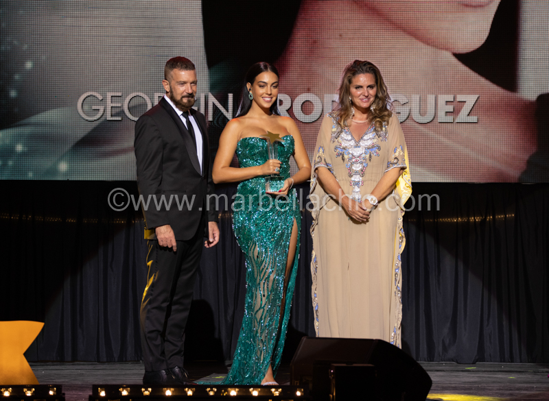 Georgina Rodriguez Starlite Gala marbella 2021