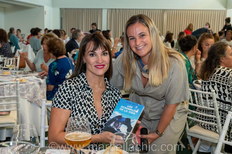 Irene Villa y REM en el hotel Gran Meliá Don Pepe